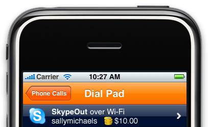 VoIP su iPhone
